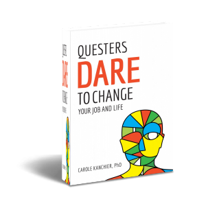 Book, Questers Dare to Change, by Carole Kanchier
